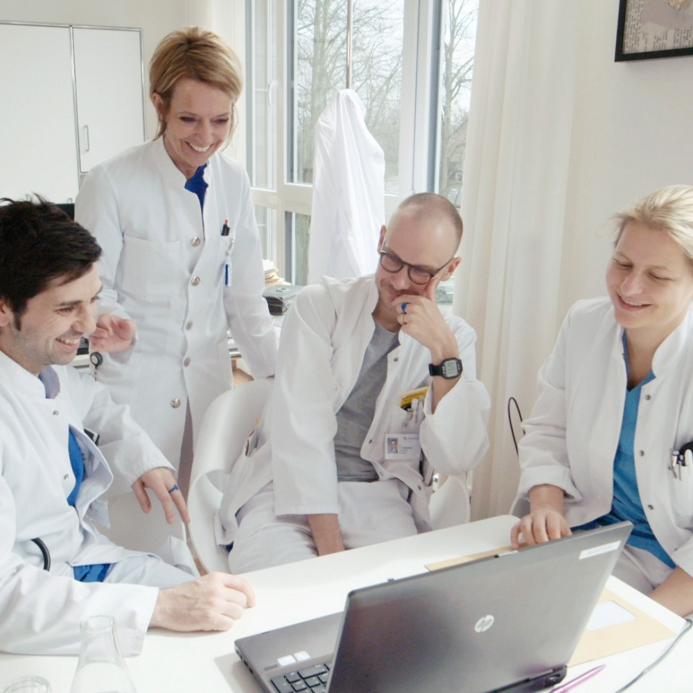 Imagefilm für eine der größten Kliniken Deutschlands. Visuelle Healthcare-Kommunikation für die Asklepios Kliniken Hamburg