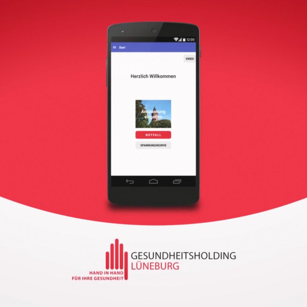 Mobile Healthcare Kommunikation. Digitale Patienten-Arzt Kommunikation mit der App der Gesundheitsholding Lüneburg