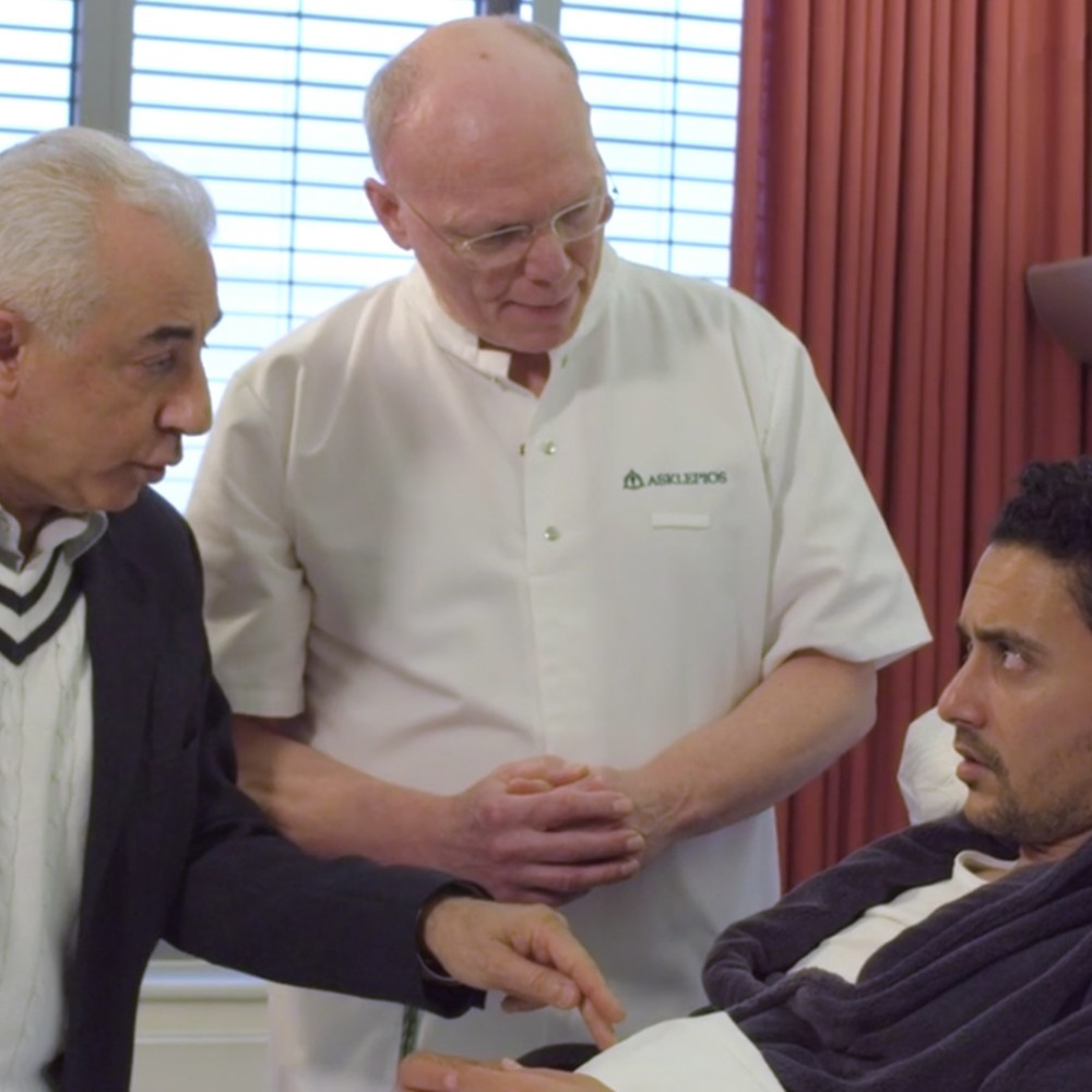 Imagefilm Internationale Patienten für Klinik-Konzern. Visuelle Healthcare-Kommunikation für Asklepios Deutschland