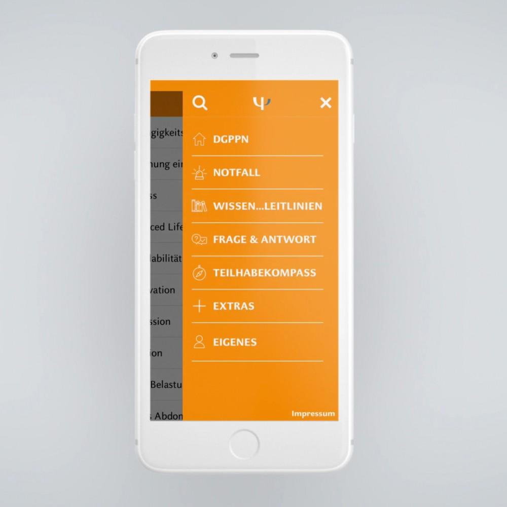 Healthcare App-Entwicklung. Digitale Kommunikation der DGPPN für Experten in der Behandlung psychischer Erkrankungen